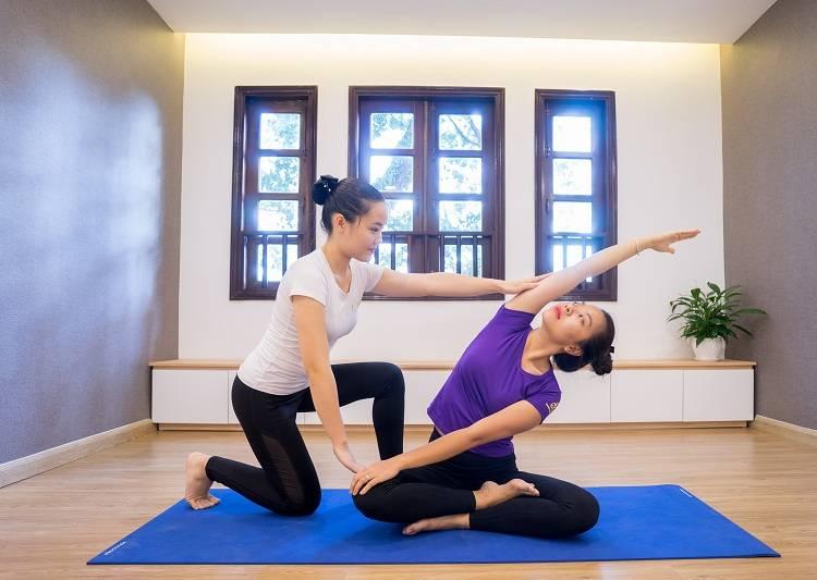 Làm huấn luyện viên Yoga mang đến một sức khỏe tốt